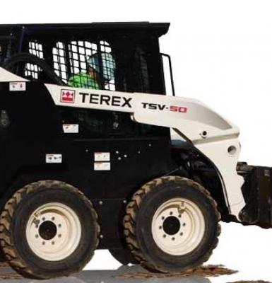 MINI CARREGADEIRA TERREX - TSV-50