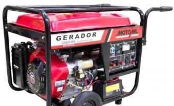 GERADOR DE ENERGIA 8 KVA(GASOLINA) - MOTOMIL-MMG 8000CLE1